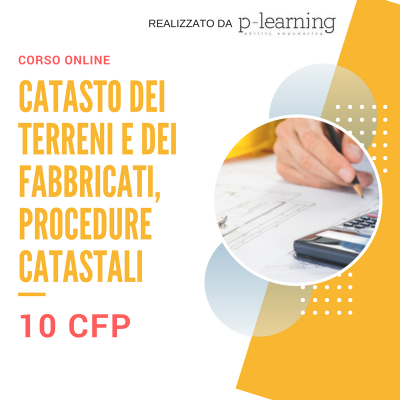 Catasto dei terreni e dei fabbricati, procedure catastali